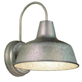galvanized outdoor lights photo - 3