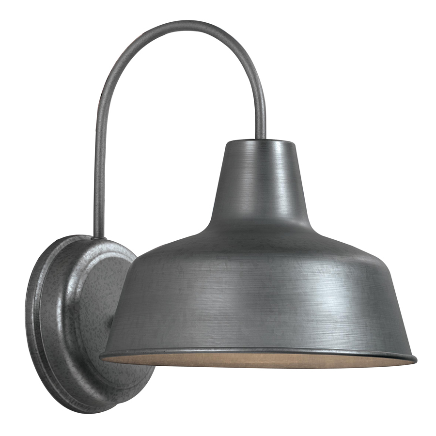 galvanized outdoor lights photo - 4