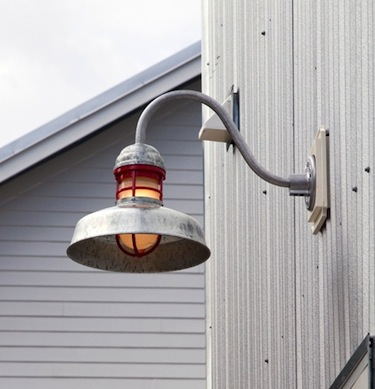 galvanized outdoor lights photo - 7
