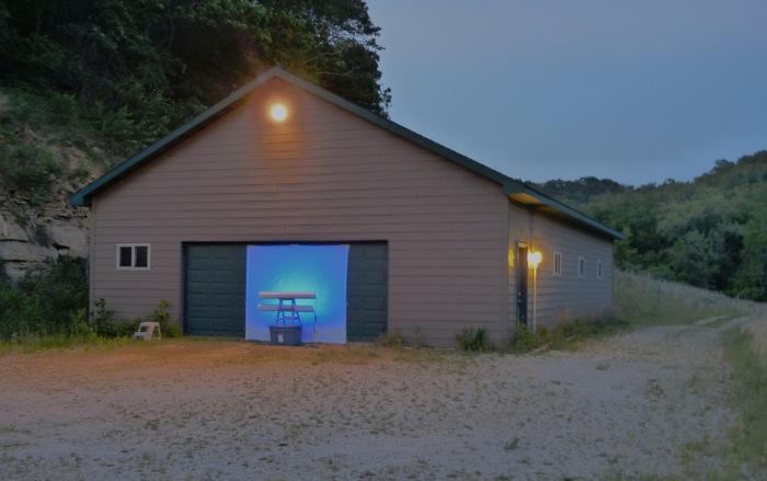 garage outdoor lights photo - 6