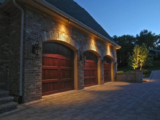 garage outdoor lights photo - 7
