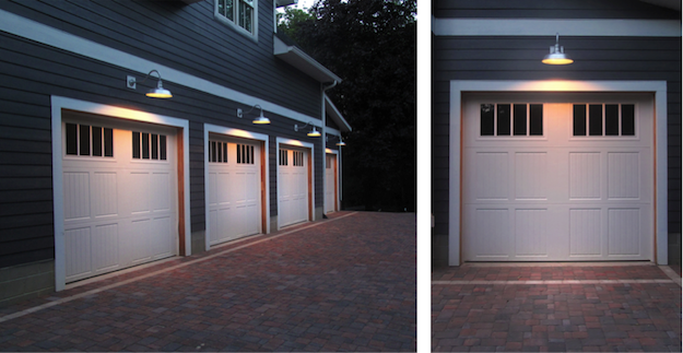 garage outdoor lights photo - 9