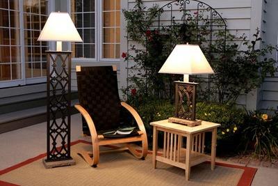 garden lamps photo - 4
