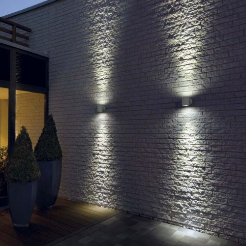 garden wall lights photo - 1