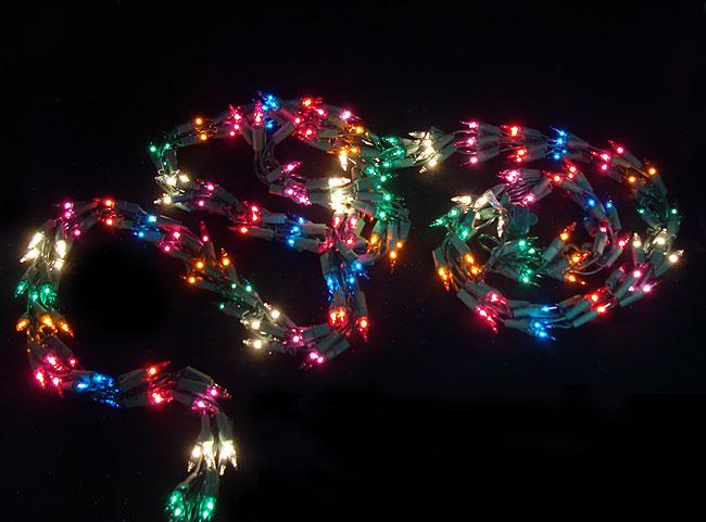 Garland Christmas Lights Outdoor 15 Fancy Decorative
