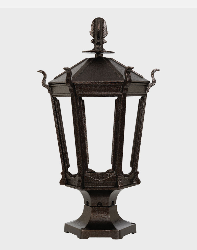 gas lamps outdoor lighting photo - 2
