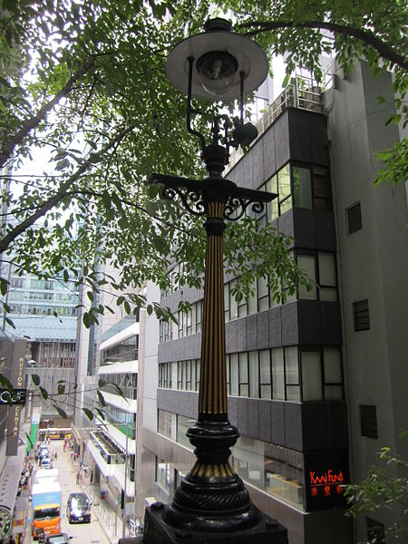 gas street lamps photo - 3