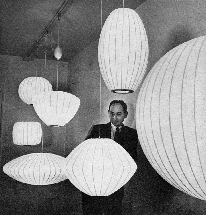 george nelson lamps photo - 6