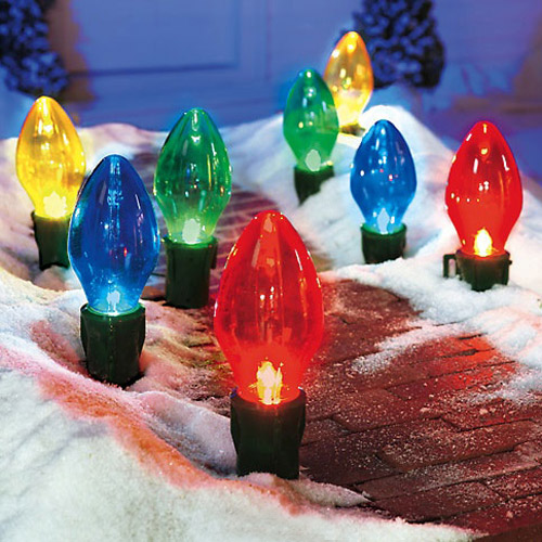 giant outdoor christmas lights photo - 1