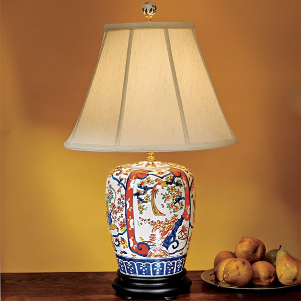 ginger jar lamps photo - 1