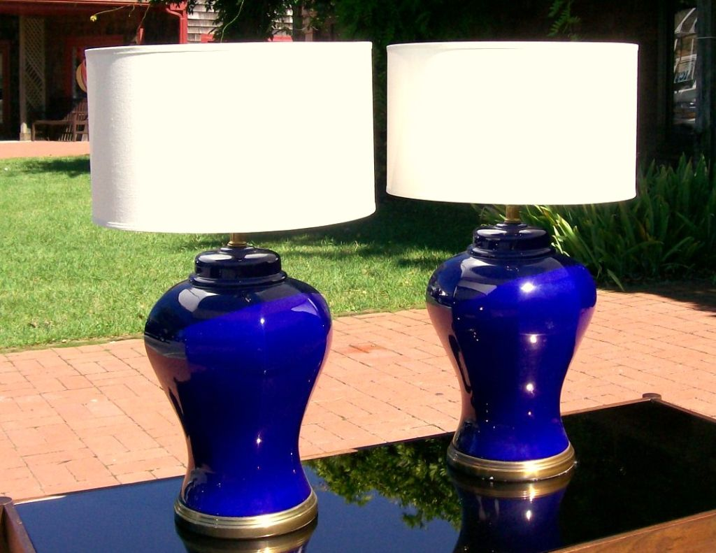 ginger jar lamps photo - 10