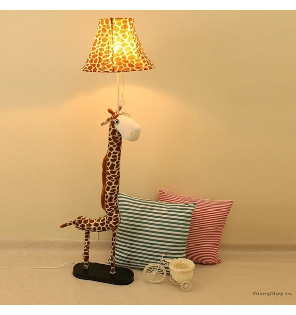 giraffe floor lamp photo - 6