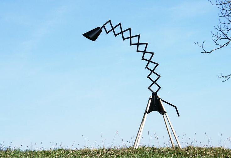 giraffe floor lamp photo - 8