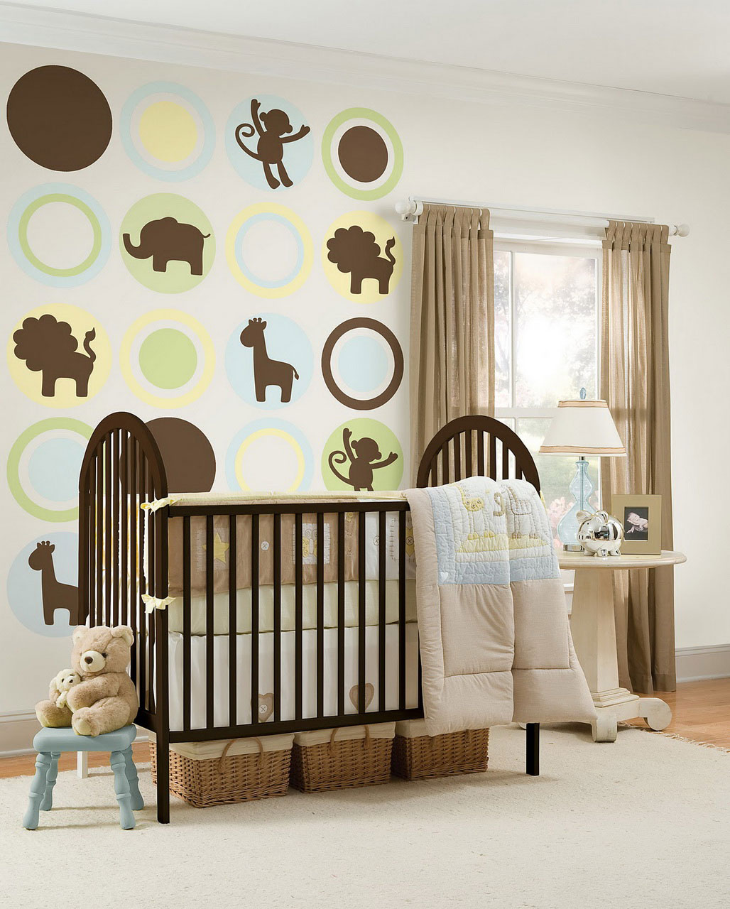 girl nursery lamps photo - 3