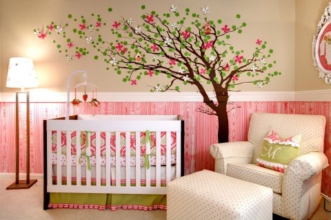 girl nursery lamps photo - 9