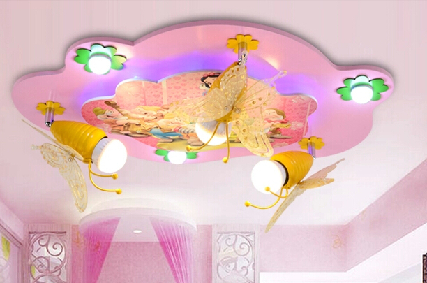 girls room lamps photo - 7
