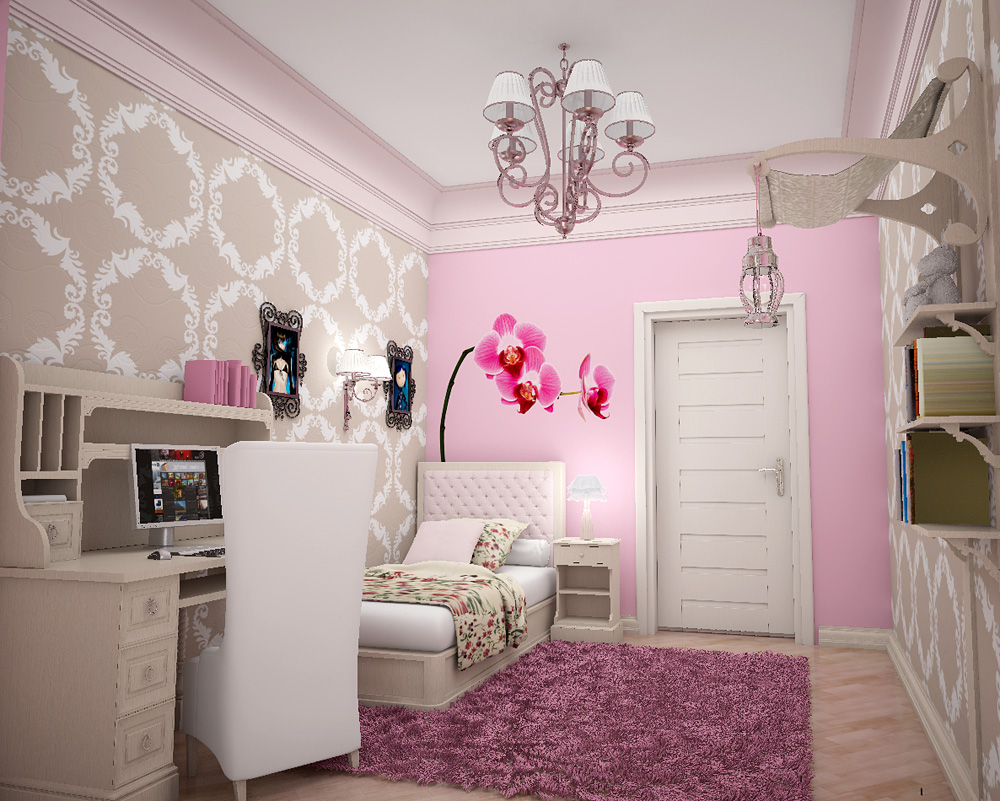 girls wall lights photo - 1