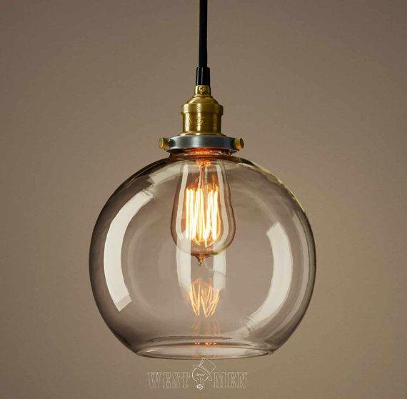 glass ball ceiling lights photo - 1