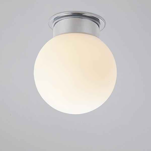 glass ball ceiling lights photo - 2
