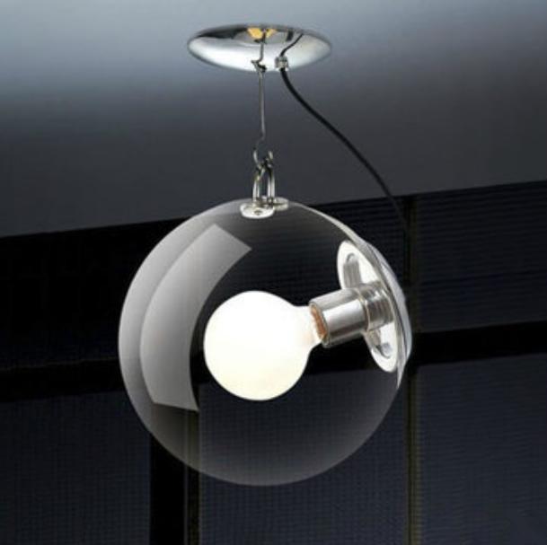 glass ball ceiling lights photo - 6