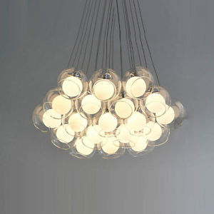 glass ball ceiling lights photo - 9