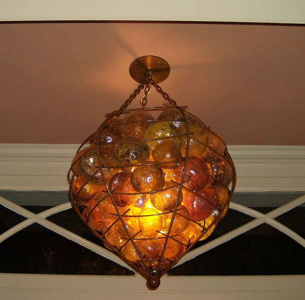 glass ball lamps photo - 10