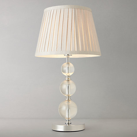 glass bedside lamps photo - 3