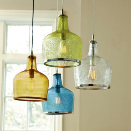 glass ceiling lights pendant photo - 1