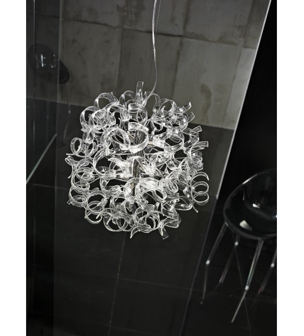 glass ceiling lights pendant photo - 3
