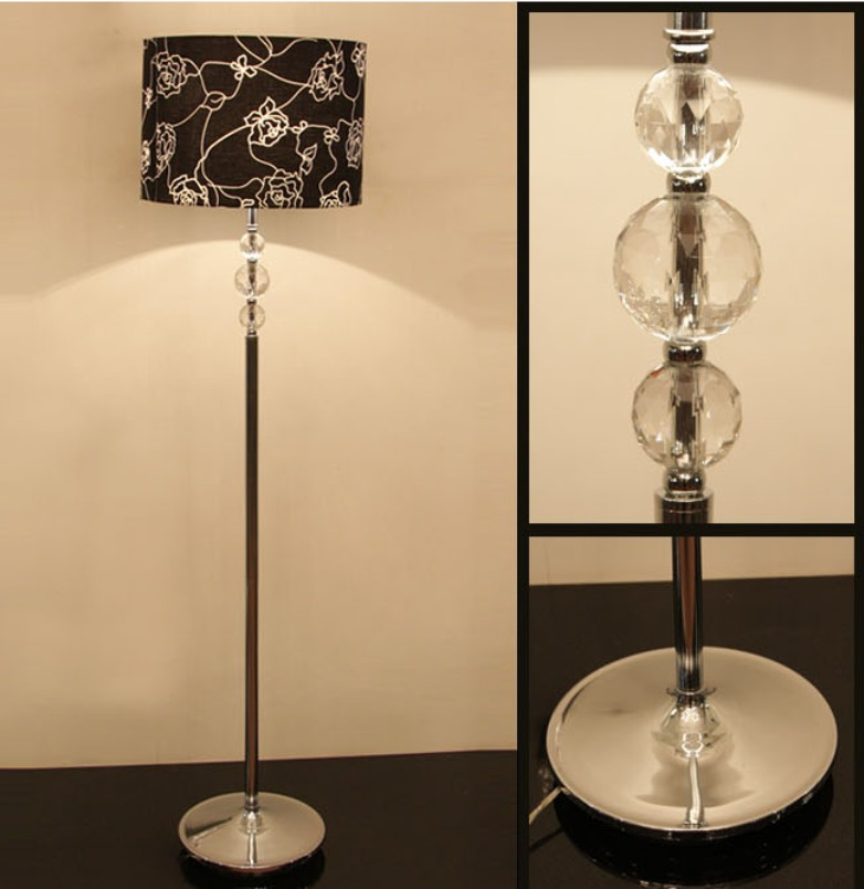glass floor lamps photo - 8