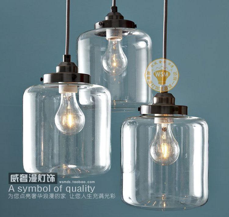 glass jar lamp photo - 7