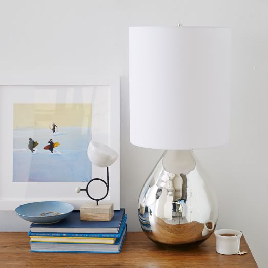 glass jug lamp photo - 1