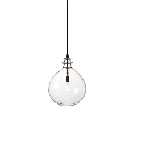 glass jug lamp photo - 5