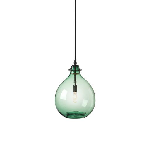 glass jug lamp photo - 6