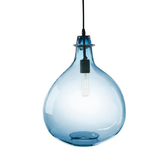 glass jug lamp photo - 8