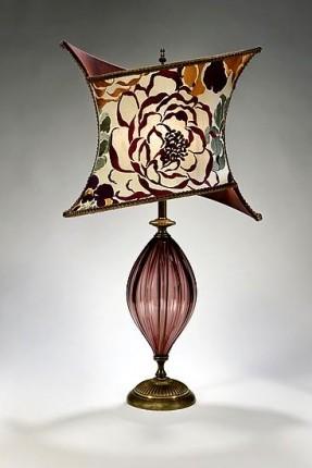 glass lamp finials photo - 6