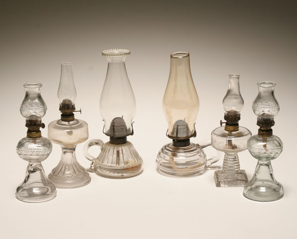 glass oil lamps photo - 1