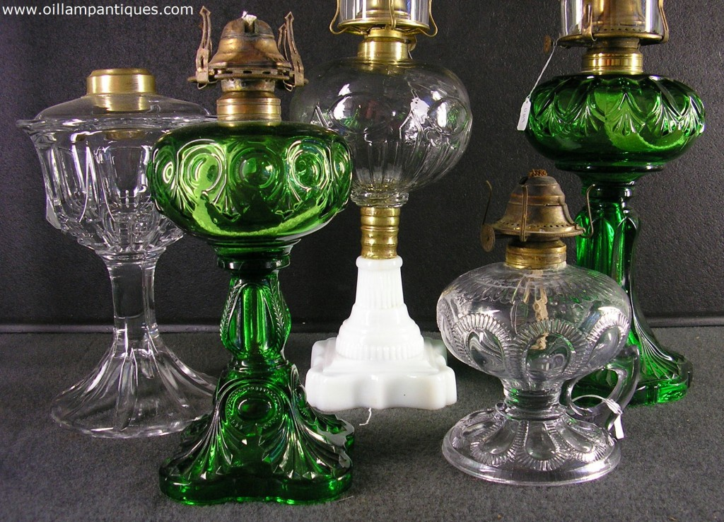 glass oil lamps photo - 7