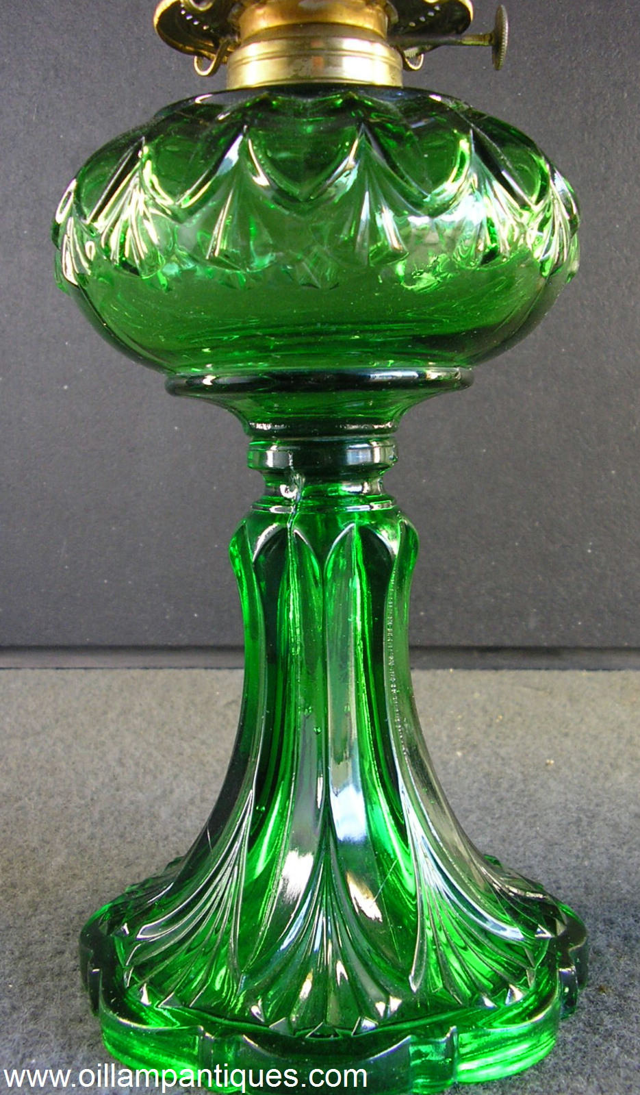 glass oil lamps photo - 9