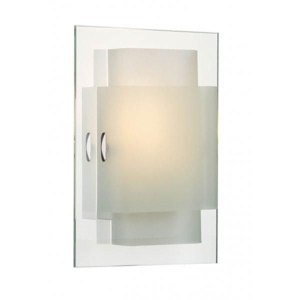 glass panel wall light photo - 10