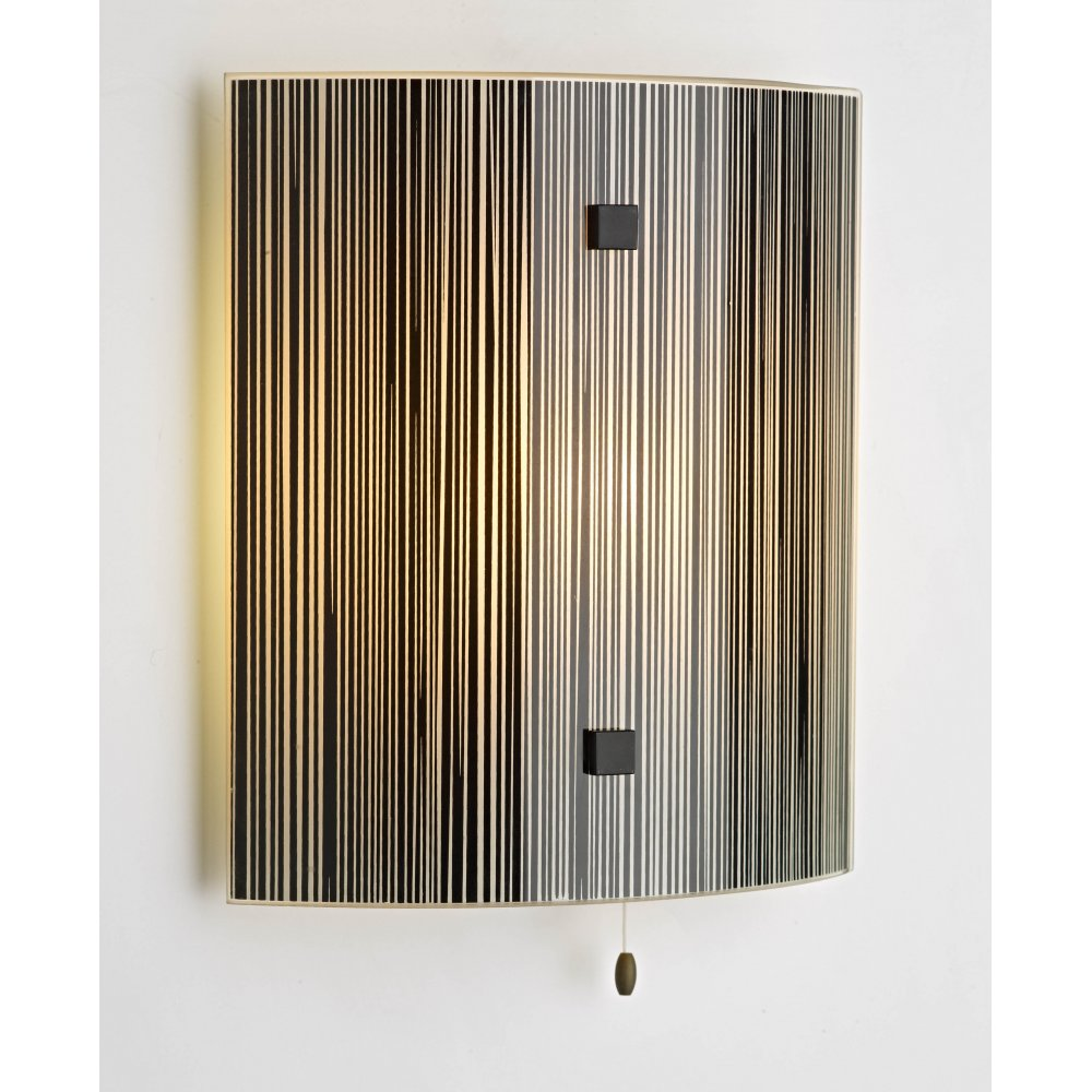 Glass Panel Wall Light For Enhancing Beauty Health