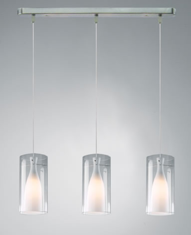 glass pendant ceiling light photo - 4