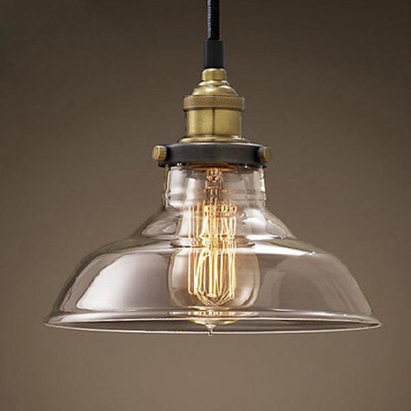 glass pendant ceiling light photo - 9