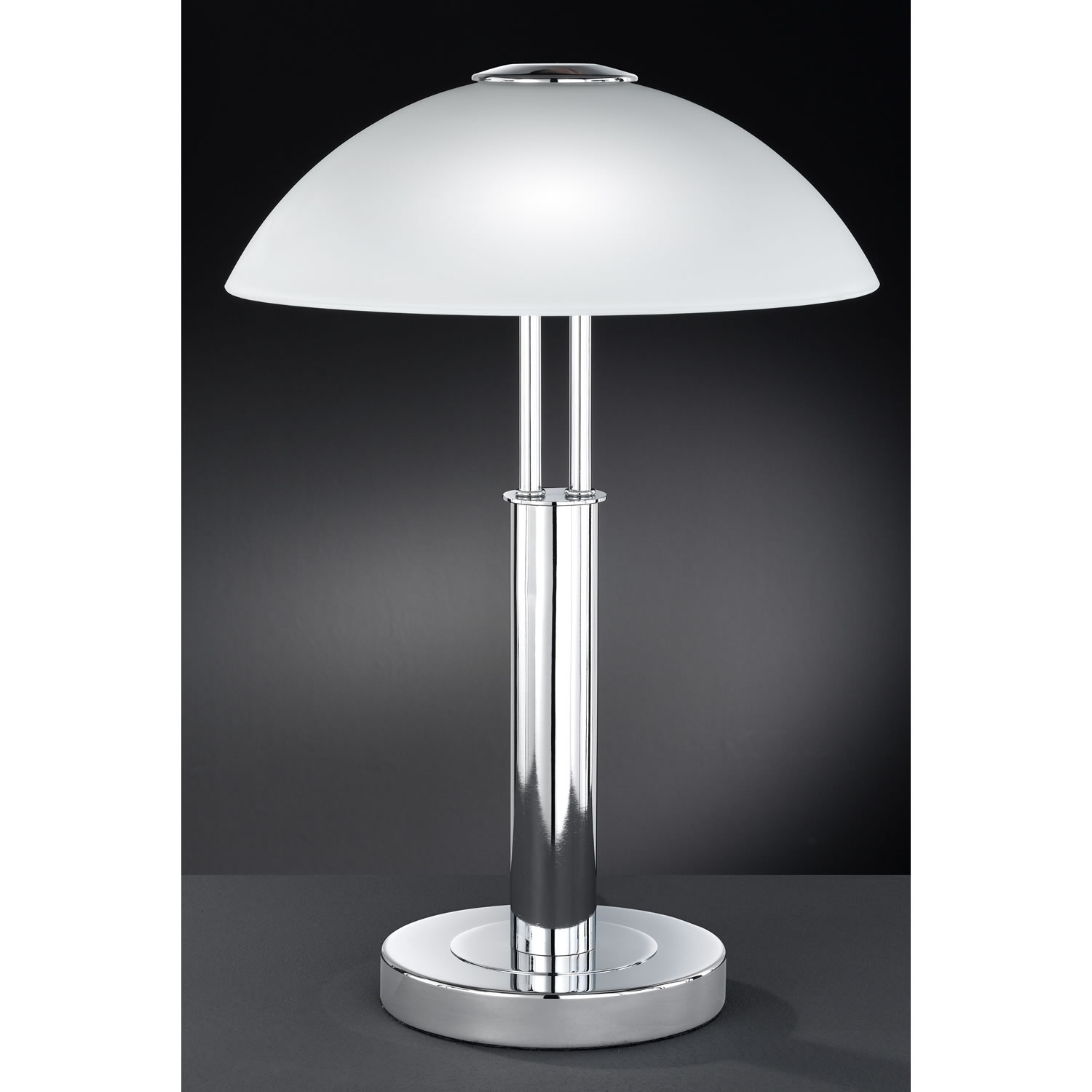 glass touch lamp photo - 1