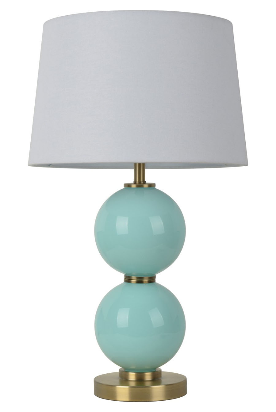 glass touch lamp photo - 3