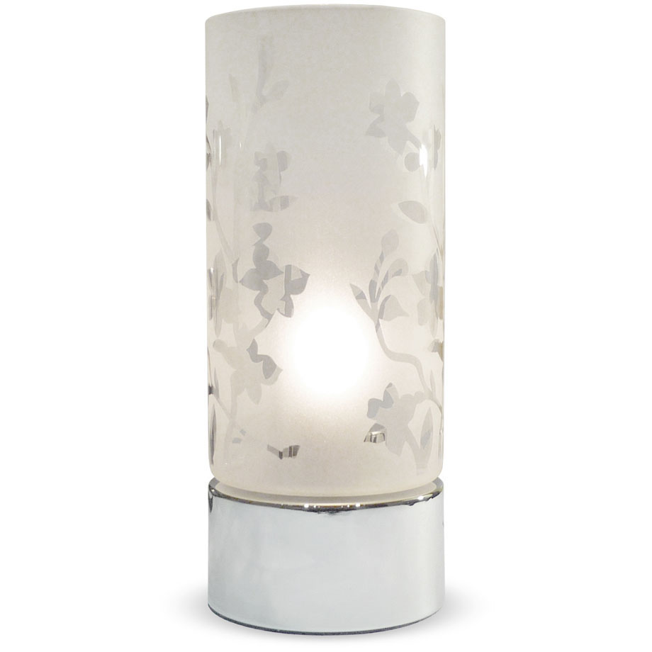 glass touch lamp photo - 7