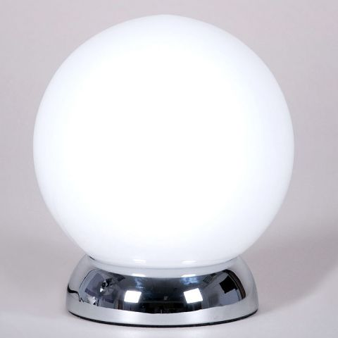 glass touch lamp photo - 9