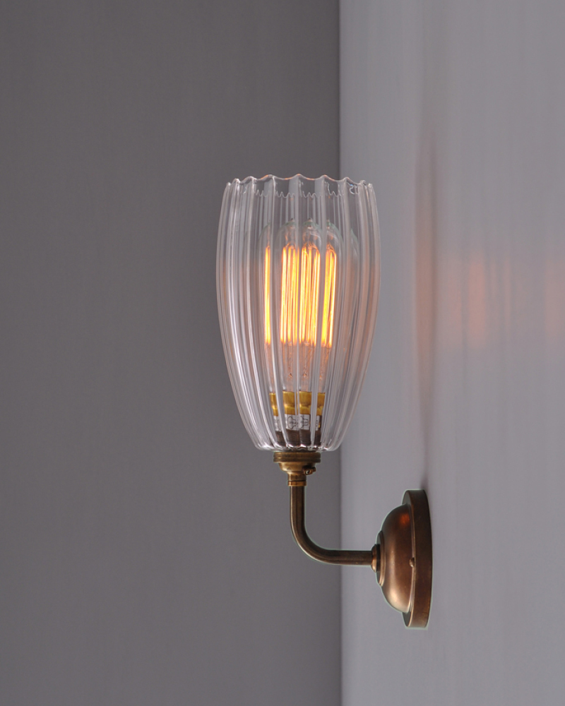 Glass Lamp Shades For Wall Lights: glass wall light shades photo - 1,Lighting