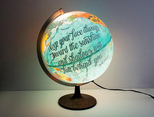 globe lamps photo - 2
