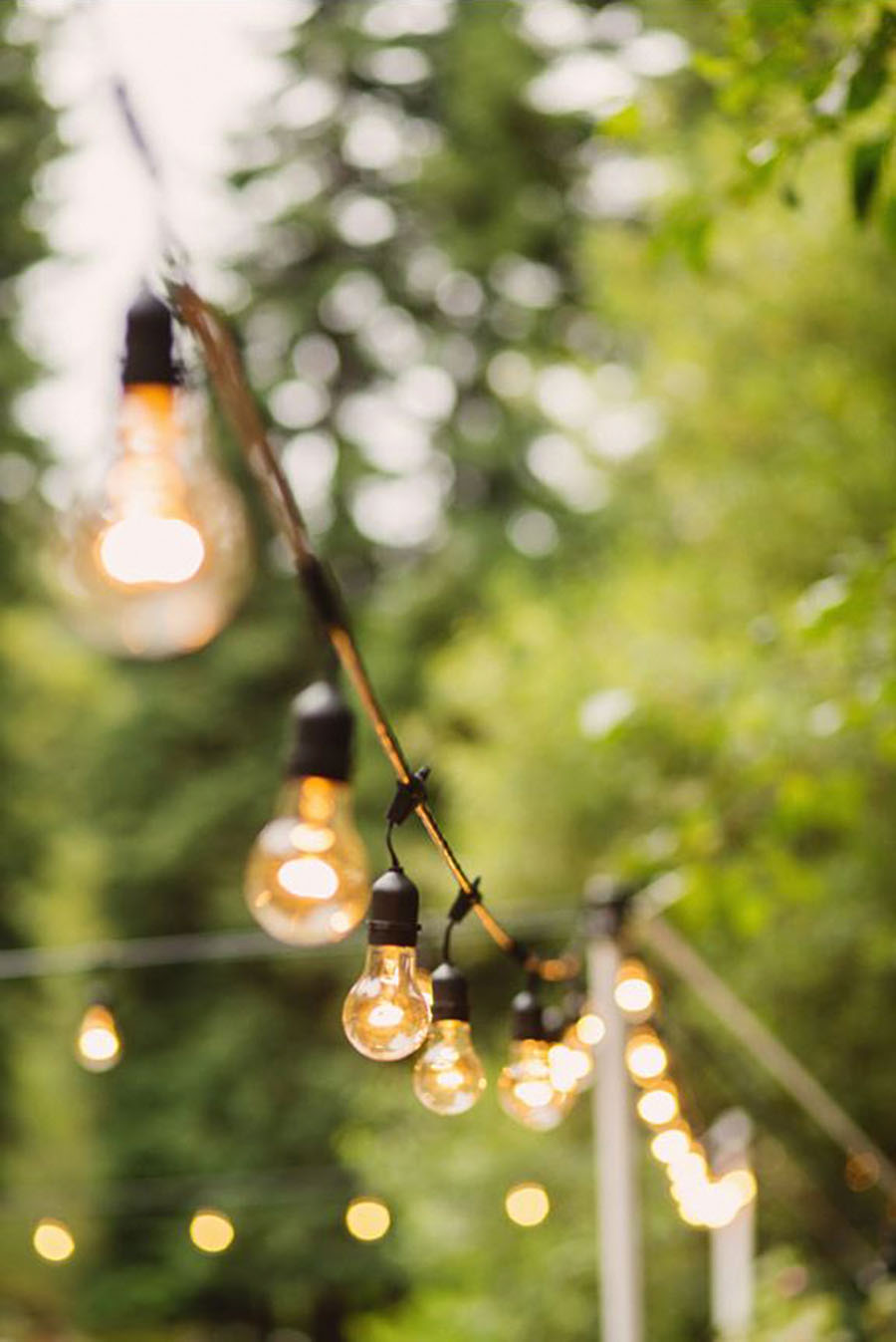 globe light string outdoor photo - 8